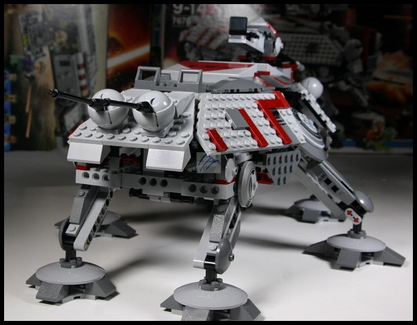 lego star wars at te walker instructions
